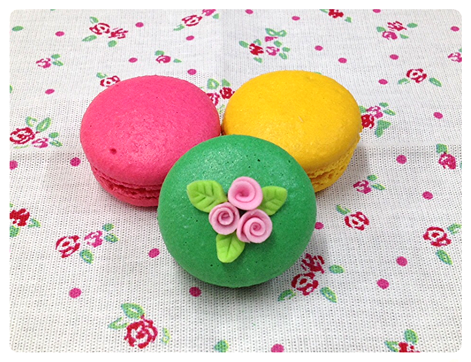 Macarons decorado