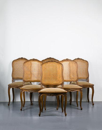 法國路易 XV 古董椅