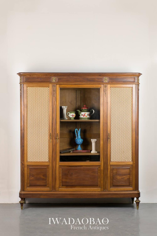 法國路易 XVI 古董展示櫃