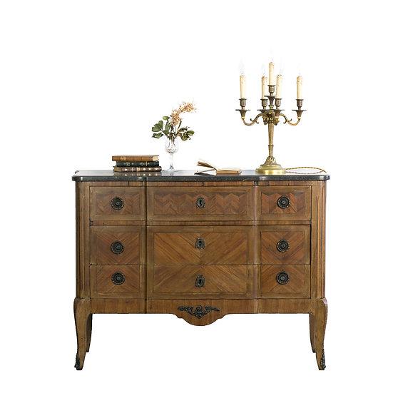 法國路易 XV 古董邊櫃