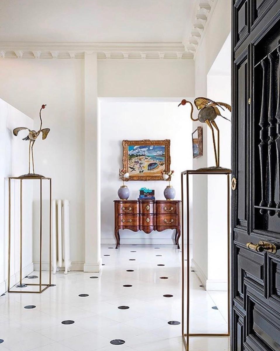 Home inspiration, beautiful hallway