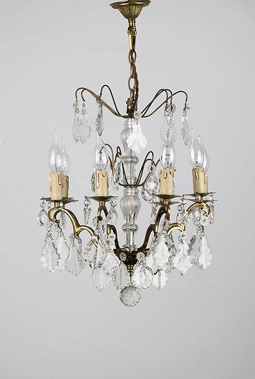 法國路易 XV 古董水晶吊燈