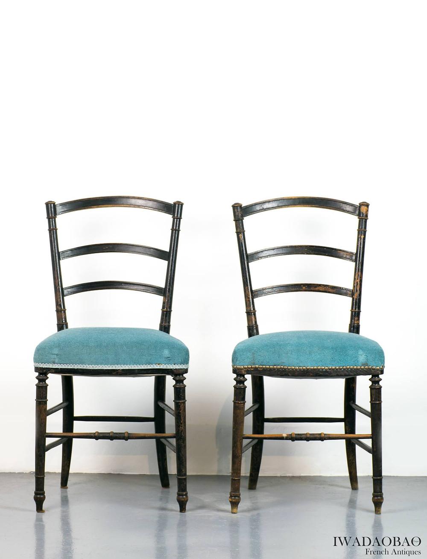 法國拿破崙 lll 世古董椅