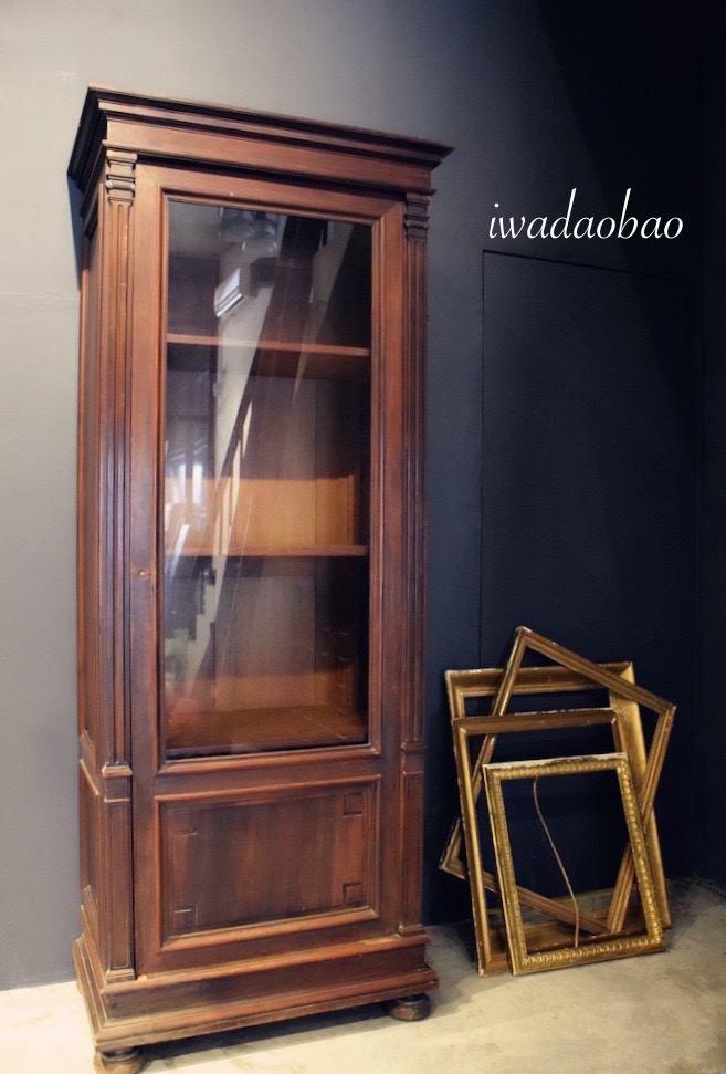 法國 Louis Philippe 玻璃木櫃