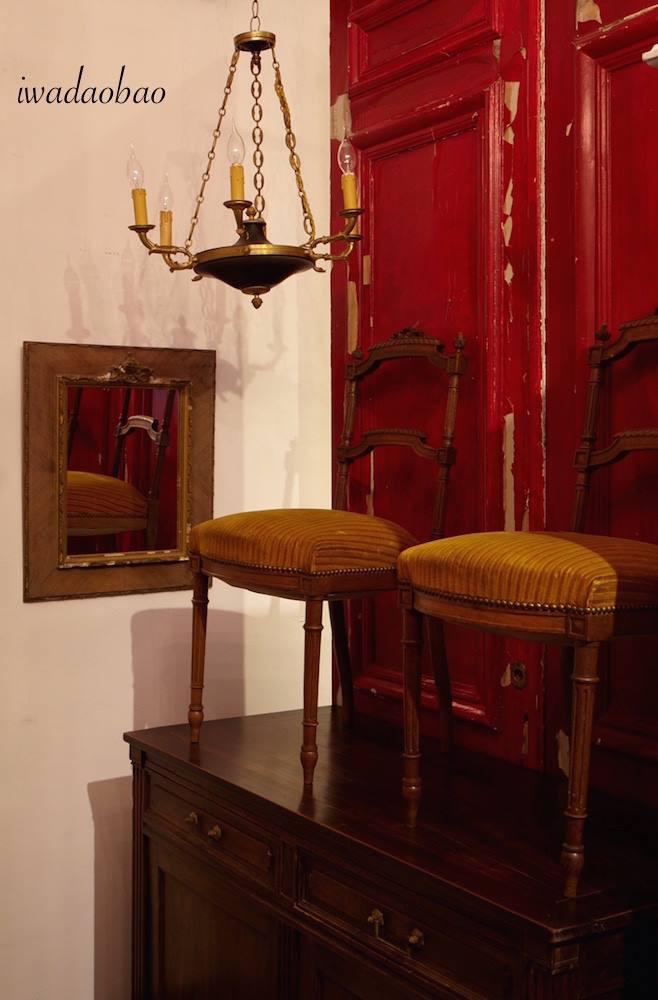 法國 Empire style 黃銅吊燈
