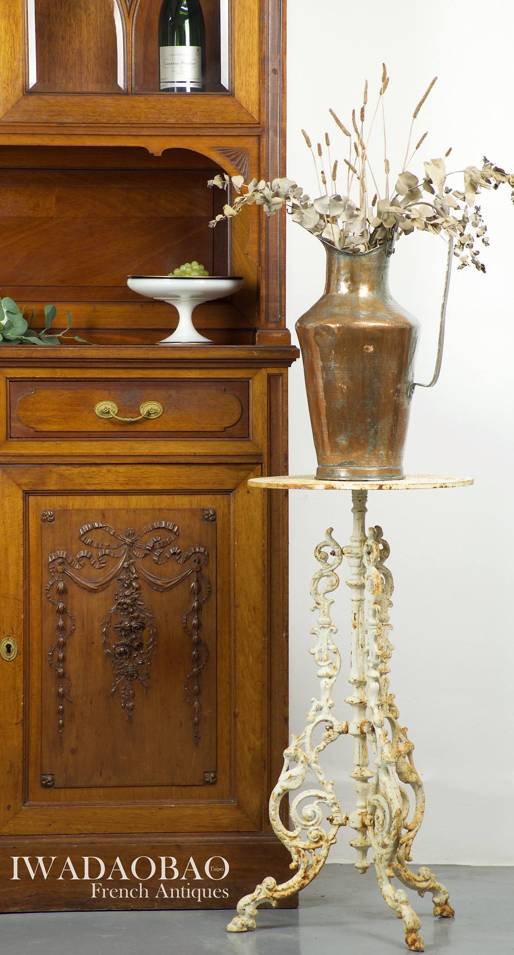 法國鑄鐵古董桌