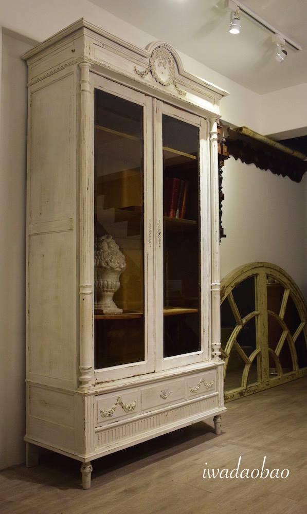法國 Louis XVI 古董展示櫃