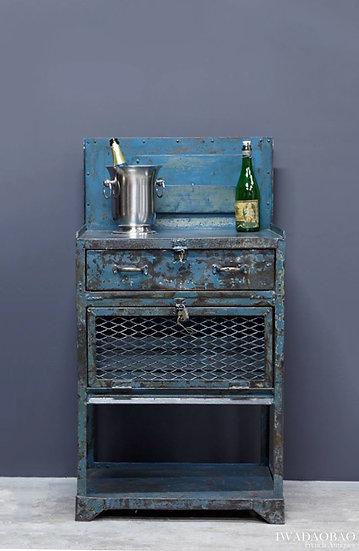 歐洲法國工業古董工作桌