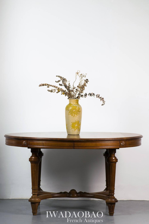 法國路易 XVI 古董圓桌