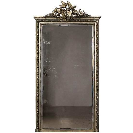 法國拿破崙 III 古董落地鏡