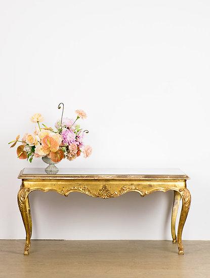 歐洲古董矮桌