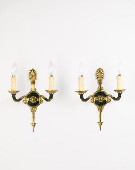 法國帝國時期古董壁燈