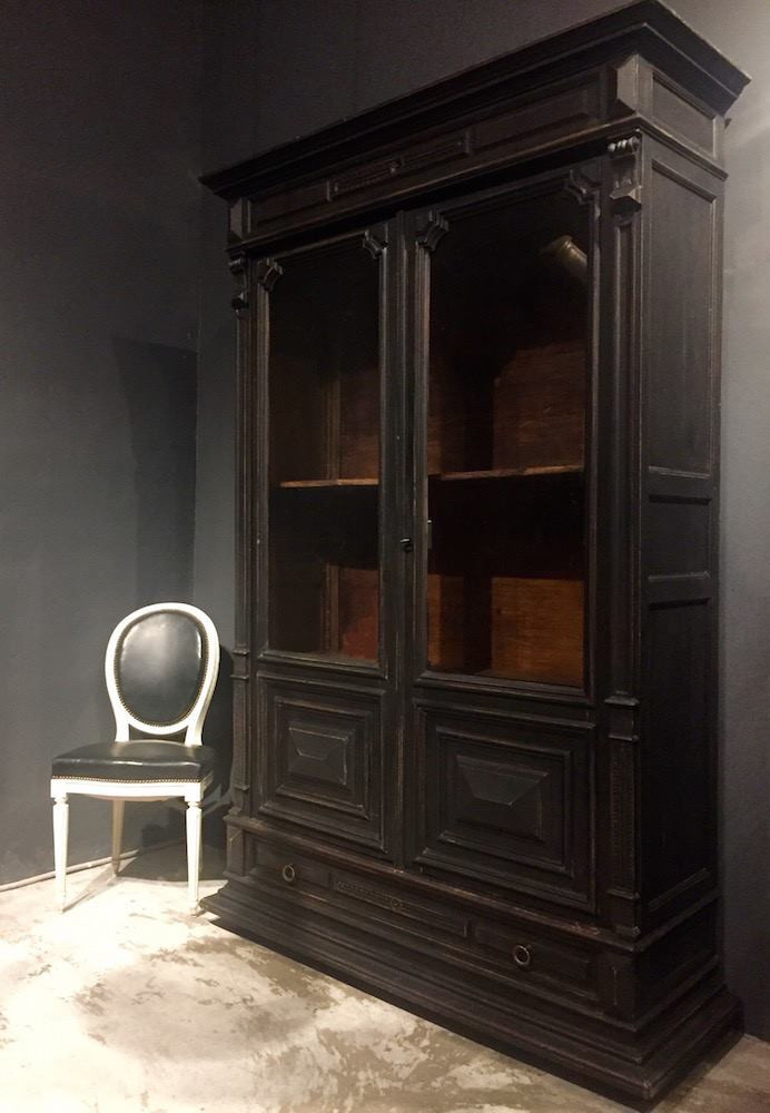 法國拿破崙 III 世古董展示櫃