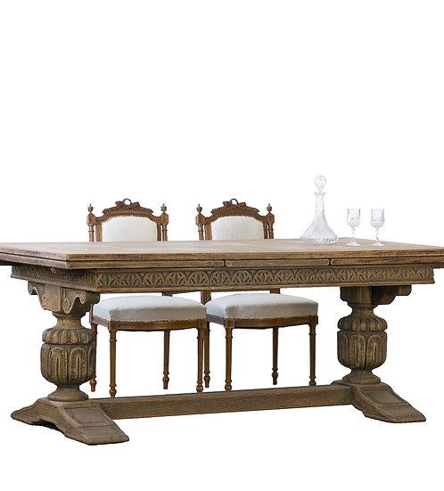 法國亨利 II 古董餐桌