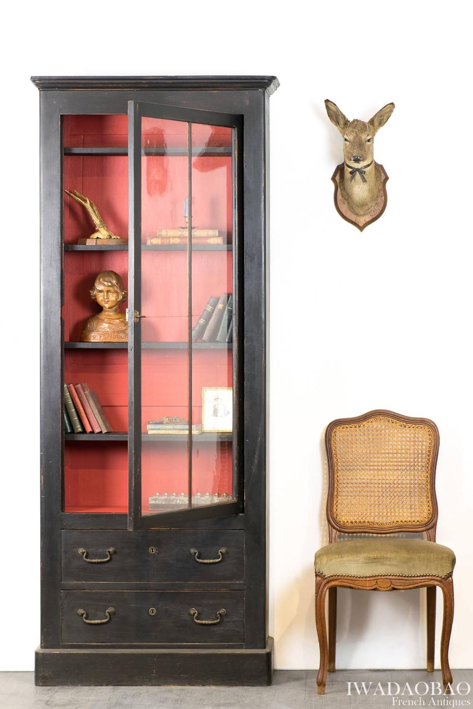 法國拿破崙 lll 古董展示櫃