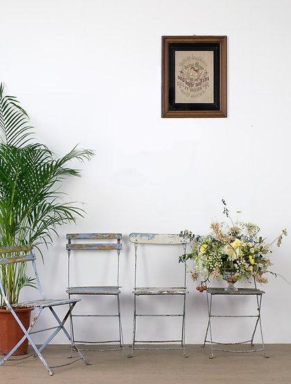 法國花園古董椅