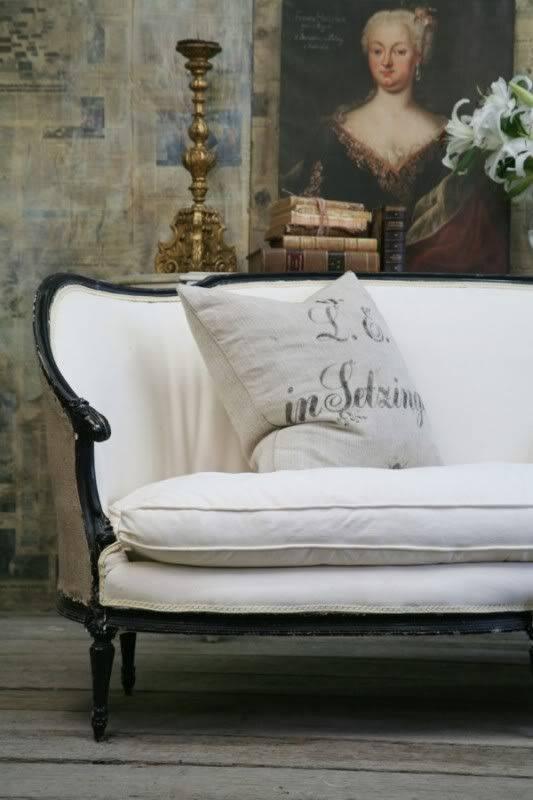 歐洲法國古典風古董沙發