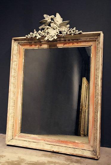 法國愛情鳥古董鏡