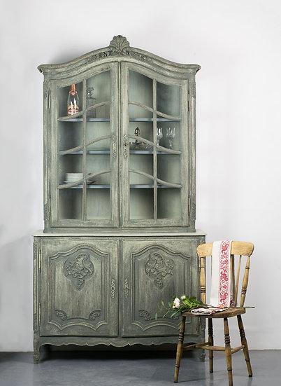 歐洲古董展示櫃