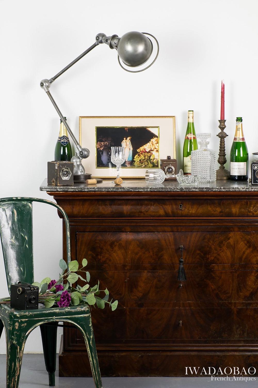 法國 Louis Philippe 古董邊櫃