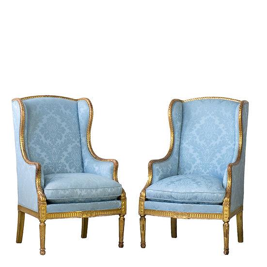 法國路易XVI 古董手扶椅