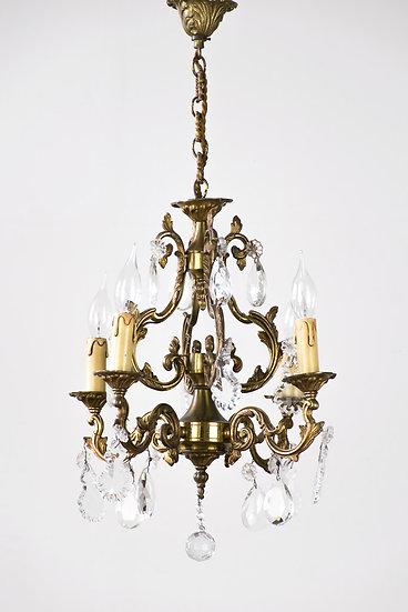 法國路易 XVI 古董吊燈.
