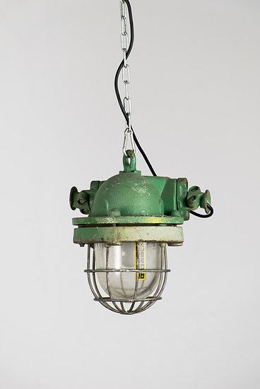 歐洲東歐工業防爆老吊燈