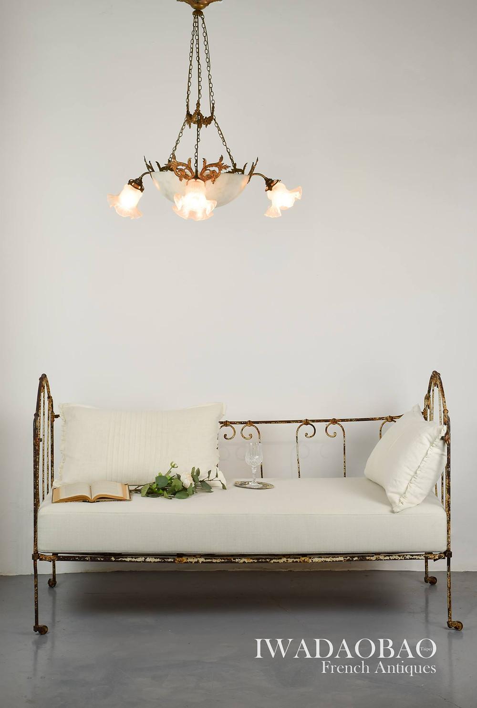 法國古董嬰兒床