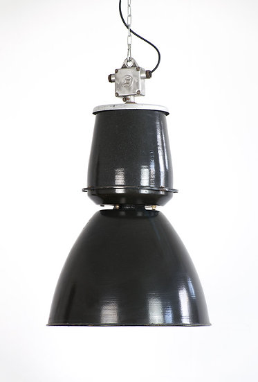東歐工業珐瑯老吊燈