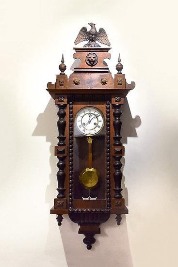 法國拿破崙 III 發條古董鐘