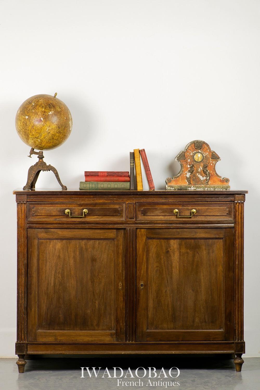 法國 Louis XVI 橡木古董邊櫃