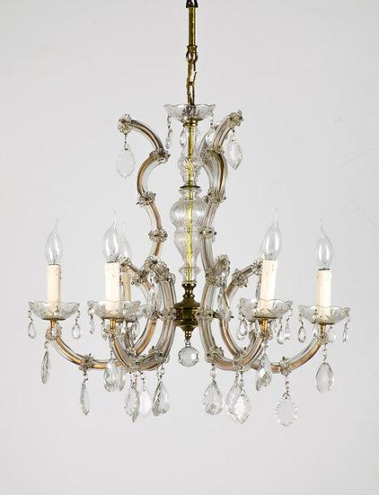 歐洲古董水晶吊燈