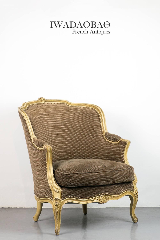 法國路易 XVI 古董手扶椅