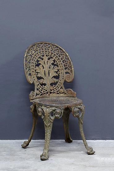 歐洲鑄鐵古董椅子