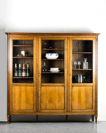 法國路易XVI 古董書櫃
