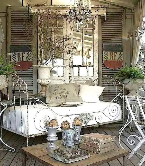古董鑄鐵床、鐵床