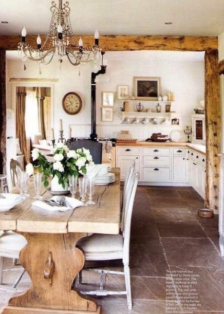 法國古董餐桌