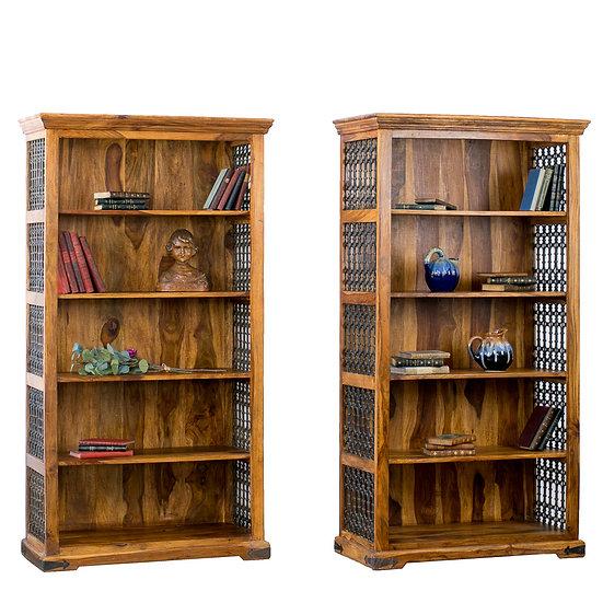 法國古董鑄鐵書櫃