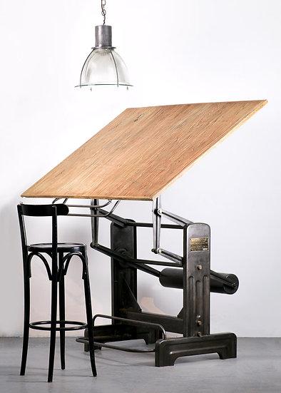 歐洲法國古董製圖桌