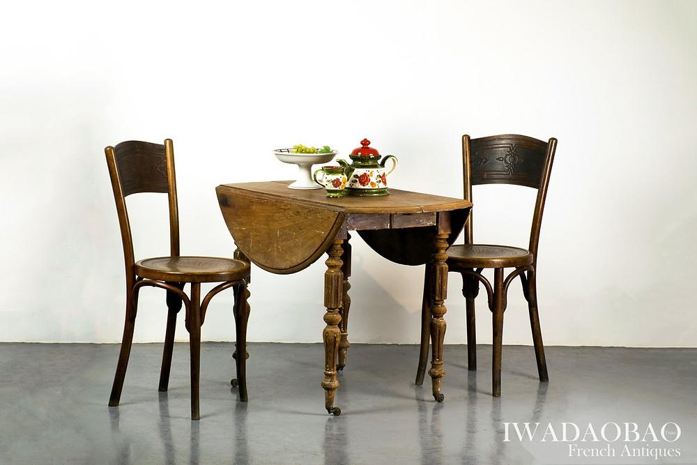 法國古董鄉村圓桌