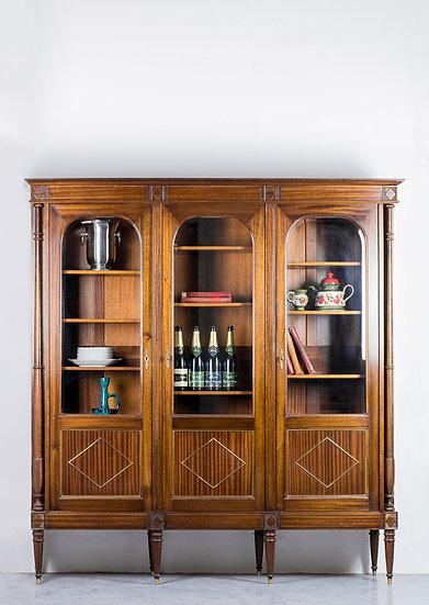 法國路易 XVI 古董書櫃
