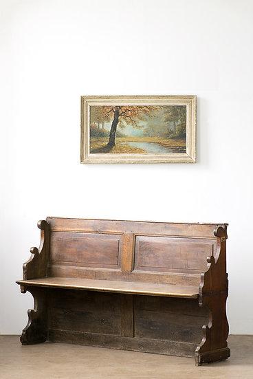 歐洲教堂古董椅