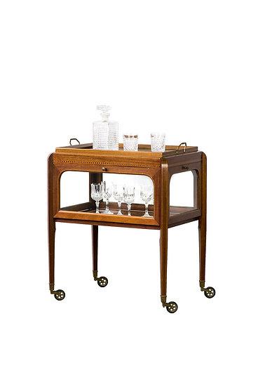 法國 Art deco 古董茶器櫃