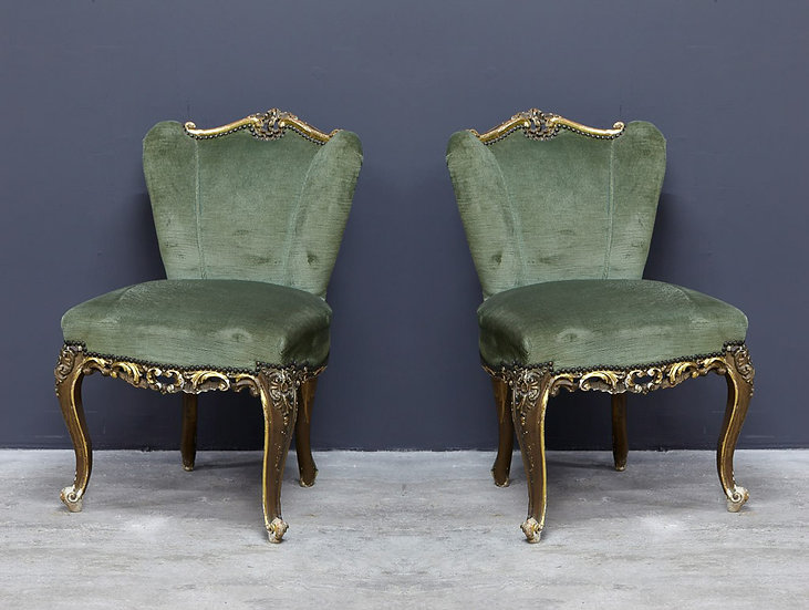 歐洲金箔古董椅子