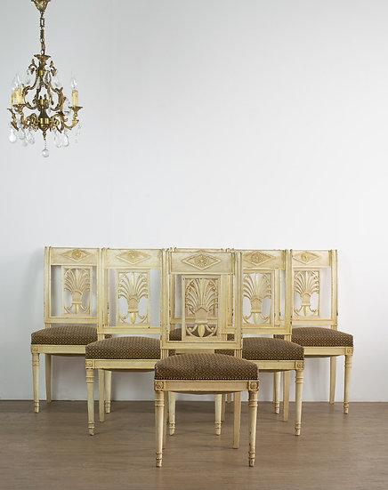 法國執政內閣式古董椅
