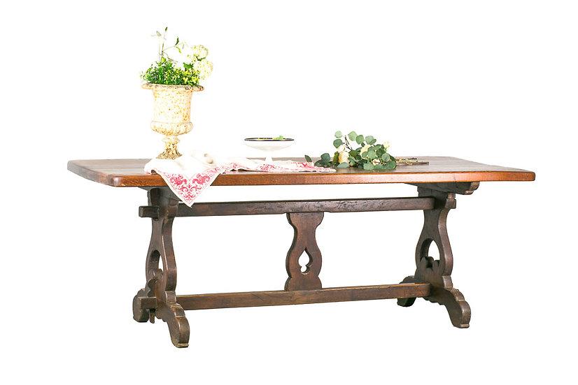 法國鄉村古董餐桌