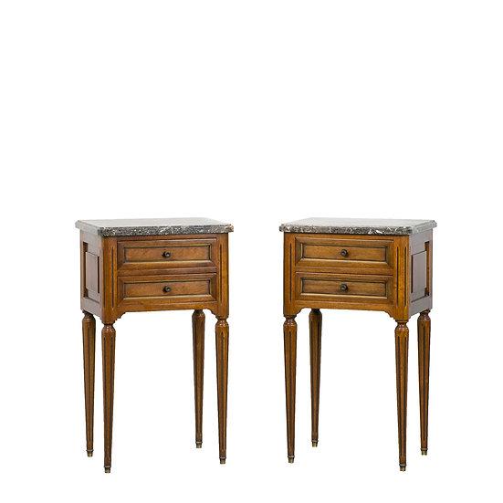 法國路易 XVI 古董小邊櫃