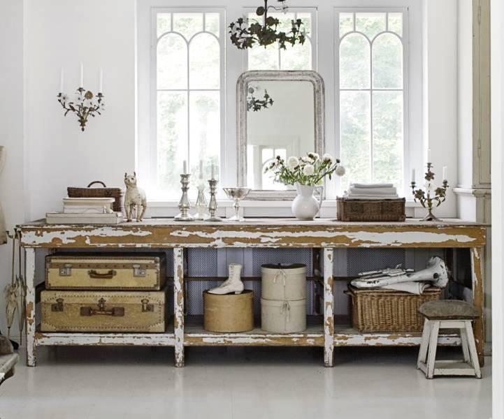 法國古董行李箱, 家飾品