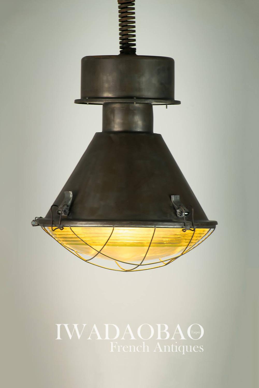 東歐工業老吊燈