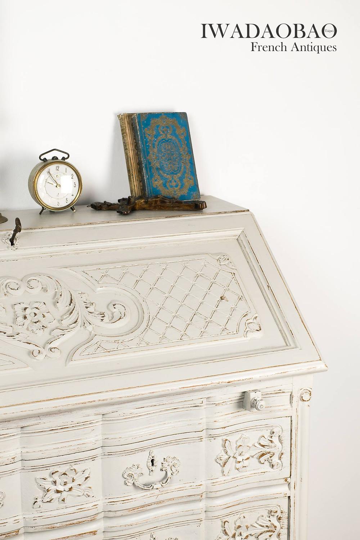 法國古董桌、古董寫字桌